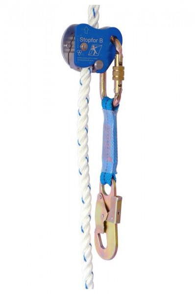 Auffanggerät für gedrehte Seile Stopfor B