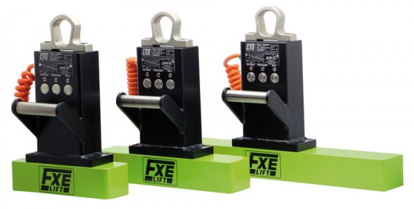 Elektro-Permanent Lasthebemagnet FXE-L400/50+
