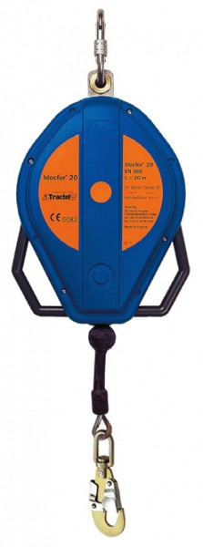 Höhensicherungs- und Rettungshubgerät blocfor SR 20-47-10